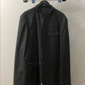 John Varvatos men's grey jacket size 44
